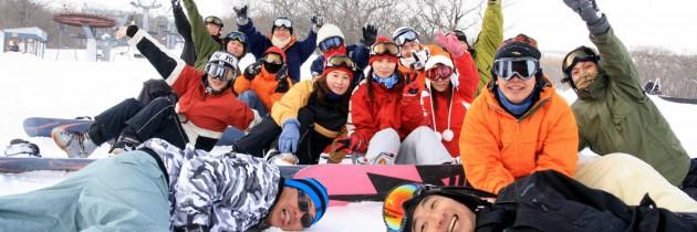 2010滑板基地宮城藏王初雪團