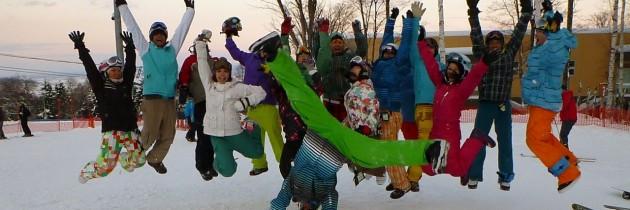 2011/12/9~15 滑板基地滑雪團 – 指導員訓