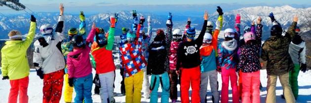 全台灣最棒的snowboard滑雪團